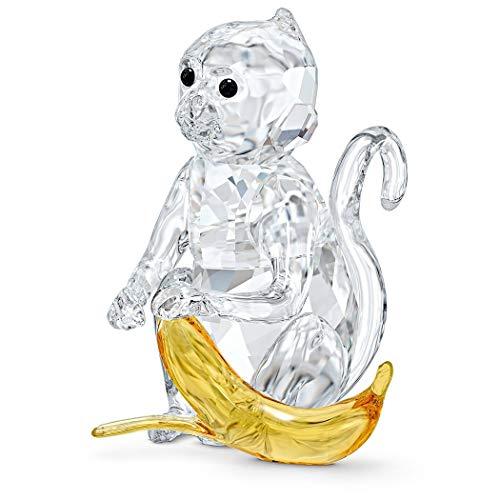 Swarovski Rare Encounters Figurine, Kristall, Weiß/Gelb, 5.6 x 4 x 4.4 cm