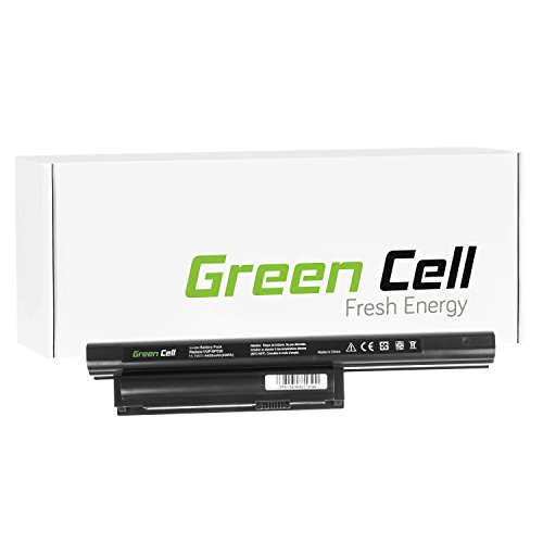 Green Cell® Standard Serie Batteria per Portatile Sony Vaio VPCEH2N1E/B (6 Pile 4400mAh 11.1V Nero)