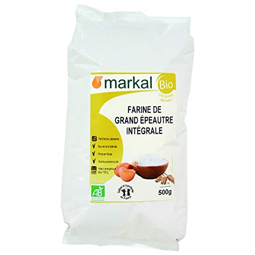 MARKAL - Farine Grand Épeautre Intégrale France 500G