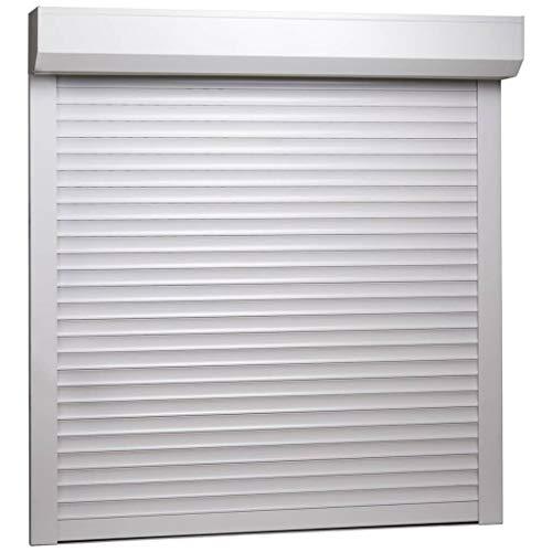 UnfadeMemory Persiana Enrollable de Aluminio,Persiana Veneciana,Protección de Privacidad,Buen Aislamiento del Calor y Sonido (100x100cm, Blanco)