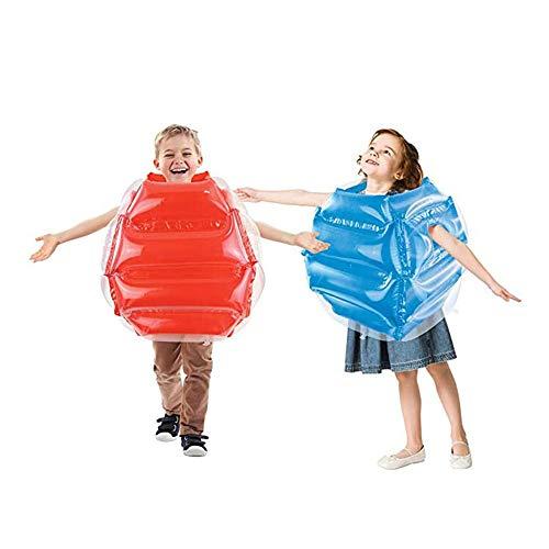 XWSD 2 bolas de parachoques inflables para niños, plegable, estructura fina, protege tu cabeza y juega felizmente, los niños para disfrutar de la diversión al aire libre