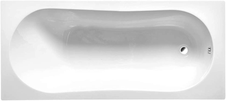 Badewanne JAZZ 170x70x39cm mit Wannenfüssen