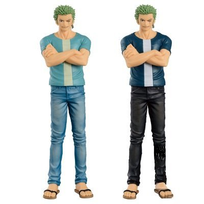 ONE PIECE JEANS FREAK vol.6 ZORO rare color / normal color set of 2 by ONE PIECE