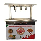 COMPACT HYGIENIC WATER FILLING MACHINE: This automatic water filling machine is highly functional and advanced thus making it easy to serve your favorite street food without any hassle EASY TO OPERATE and WARRANTY: The machine is a sensor-based speci...