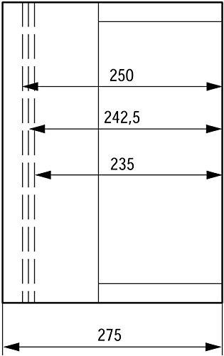 Eaton 038555 Isolierstoffgehäuse mit Vorprägungen, HxBxT=375x375x275mm