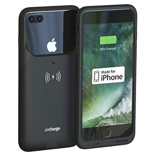 Aircharge AIR0338 Funda para teléfono móvil Negro - Fundas para teléfonos móviles (Funda, Apple, iPhone 7 Plus, Negro)