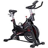 SXXYTCWL CY-S703 Indoor Silent-Spinning Bike Fitness-Fahrrades mit verstellbarem Sitz/Griff Getränkehalter Handy/Tablet PC Halter LCD-Monitor, Bearing Gewicht: 120 kg (Farbe: Color1) jianyou