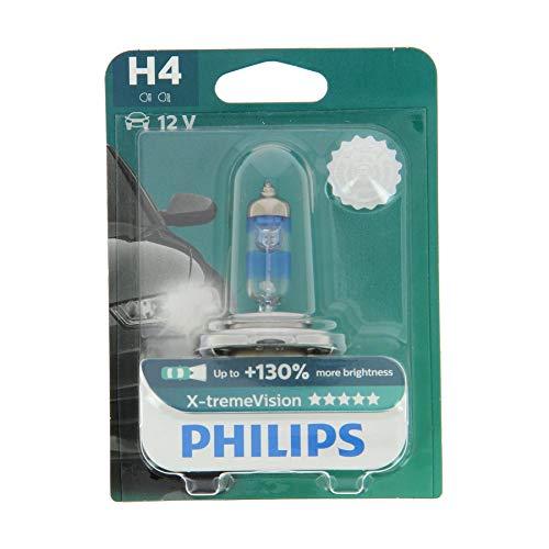 AMPOULE DE PHARE AVANT ORIGINE PHILIPS XTREME VISION +130 H4 (1PC) 12342XV + B1