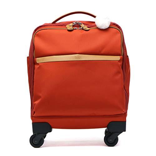 [カナナ プロジェクト] スーツケース等 カナナマイトロリー サイレントキャスター搭載 ソフトキャリー 100席以上機内持込み対応 南京錠付き 19L 55272 機内持ち込み可 35 cm 1.9kg ブラッドオレンジ
