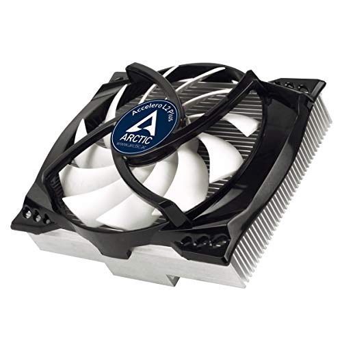 ARCTIC Accelero L2 Plus VGA Cooler - nVidia & AMD, 92mm Efficient PWM Fan, SLI/CrossFire (DCACO-V300101-BL)