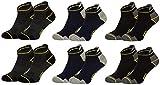 Tobeni 6 Paar Herren Arbeits- und Freizeit Sneaker Socken TAB Sneakers - Füsslinge mit verstärkter Ferse und Spitze