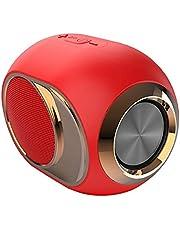 Draagbare Draadloze Speaker Stereo Sound TWS Speaker met Snelle Verbinding Ingebouwde Microfoon Rood