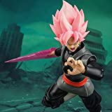 BEUHOME Dolls Dragon Ball Super Goku Black Rose Zamasu The Chosen Mobile PVC Action Figure Model Toy 14Cm CJW0107