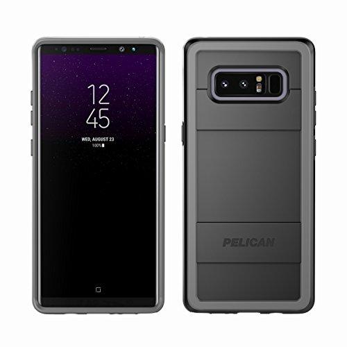 Pelican Protector | Samsung Galaxy Note8 Case (Black/Light Grey)