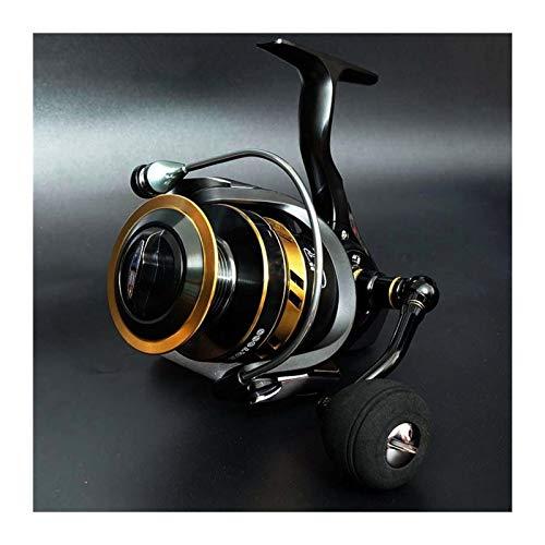 Hielo 13 + 1BB Carrete de pesca Carrete Metal Handle Spinning Reel Carretes de pesca Relación de alta velocidad BaitCast Reel Carpa Pesca (Spool Capacity : 4000 Series)
