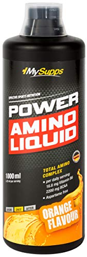 My Supps Power Amino Liquid - Aminosäuren, BCAA, EAA - 1000ml (Cherry)