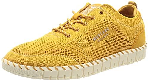 MUSTANG Damen 1379-301 Sneaker, maisgelb, EU