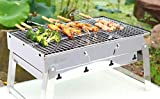 🌷 Compact size and fully foldable, weighs 4.5lbs, easy storage & simple transportation, ultra-thick grill feet ensure its durability. 🌷 No smell, non-toxic, anti-dust, durable, impermeable, easy to clean. Barbecue charcoal grill, suitable for 2 - 5 p...