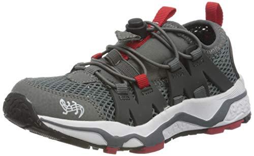 Lurchi Herren LOOX Sneaker, Grau (Grey Red 35), 36 EU
