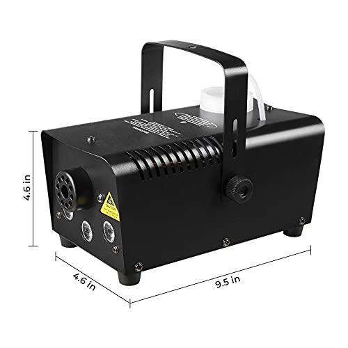 MVPOWER Mini Nebelmaschine 500W mit LED Erfahrungen & Preisvergleich