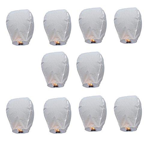 LEORX lámparas chinos 10pz ovalada Linterna del cielo Farol Kongming China que deseen lámparas para el matrimonio partido de decoración de Navidad