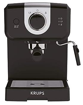 KRUPS XP3208 15-BAR Pump Espresso and Cappuccino Coffee Maker 1.5-Liter Black