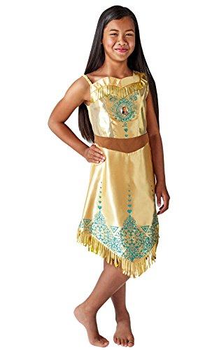 Rubies 640730M Disfraz de princesa Disney Pocahontas Gem, Niñas, Mediano
