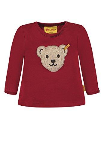 Steiff Steiff Baby-Mädchen T-Shirt 1/1 Arm Langarmshirt, Rot (Jester red 2120), 80