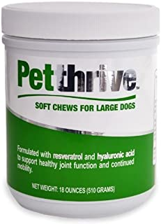 Petthrive Soft Chews for Large Dogs (18 oz) by PetThrive