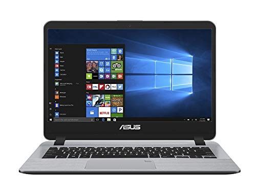 ASUS VivoBooK Intel Core i5 8th Gen 14-inch Thin and Light Laptop (8GB/256GB SSD/Windows 10/Stary Gray/1.55 Kg), X407UA-EB322T