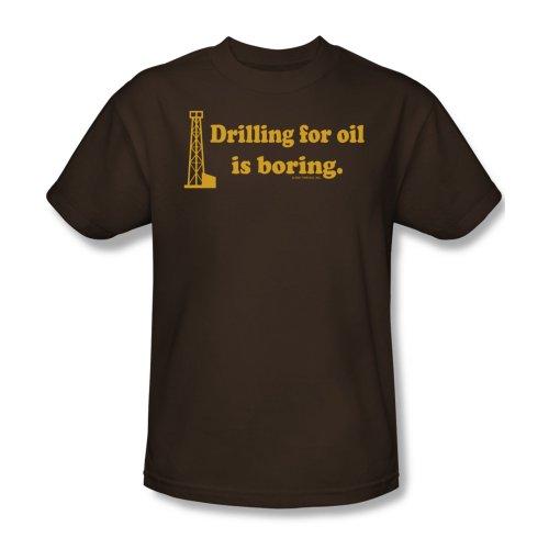 Boring - Männer T-Shirt In Kaffee, XXX-Large, Coffee