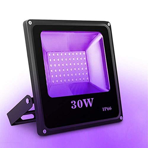 UV Beleuchtung SOLMORE 30W 60LED UV Licht UV LED Schwarzlicht LED Strahler LED Flutlicht Außenstrahler Flutlichtstrahler Außenleuchten für Bar...