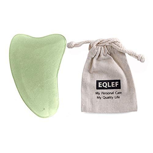 EQLE, Gua Sha de jade, fabricada a mano