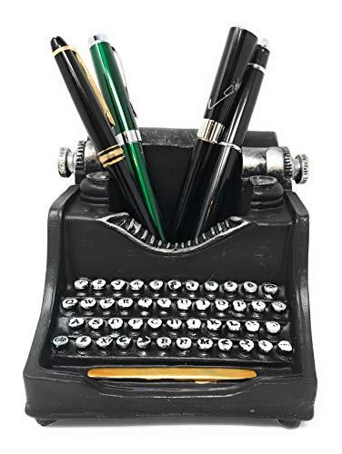 Retro/Shabby Chic/Vintage Typewriter Pencil Holder for Desk/Desk Organizer for Writer's Desk