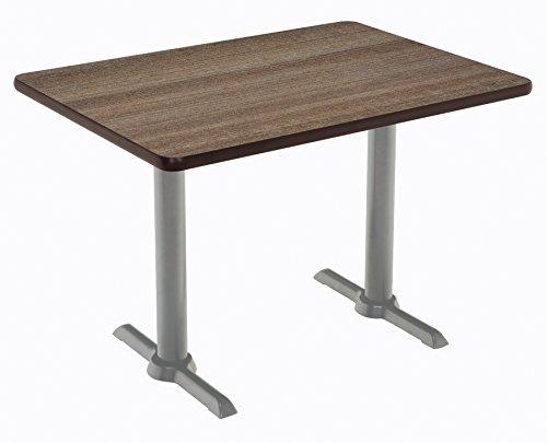 """KFI Seating Mode Multipurpose Table, 29"""" H x 30"""" W x 60"""" D, Studio Teak -  KFI Studios, T3060-B2065-SL-7960K"""