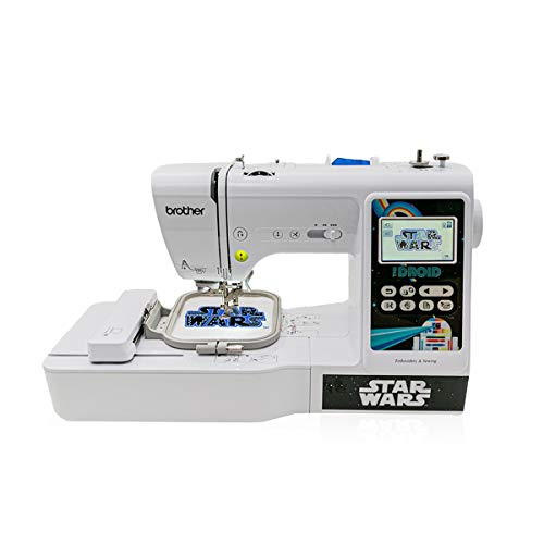 Brother LB5000S Star Wars Computerized Sewing and Embroidery Machine,...