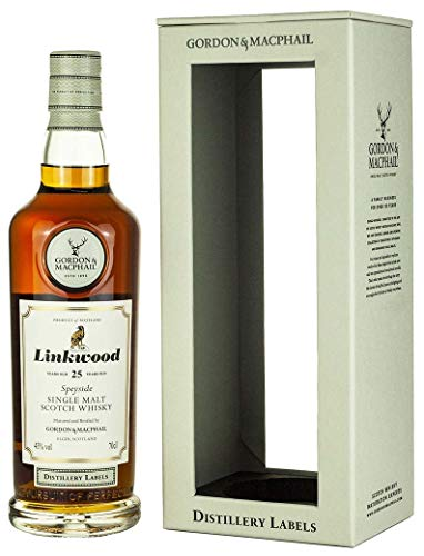 Linkwood - Distillery Labels - 25 year old Whisky