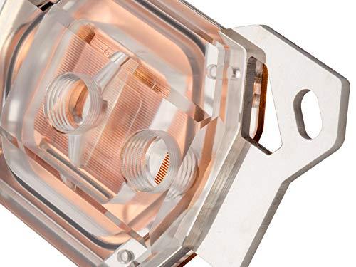 Watercool HEATKILLER IV Basic CPU Water Block (AMD, AM4 Ready), Acryl Clean