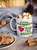 Taza Frases motivadoras. Taza de Ceramica de café. Cuando lo desees con el Corazon, el Universo...