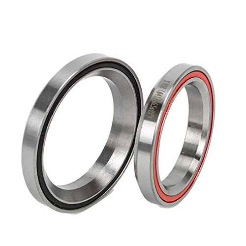 Nrpfell MTB Bike Road Bicycle Headset 41.8mm 47mm Aluminum alloy Bowl Group Accessory Contact Bearing