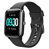 Willful Montre Connectée Femmes Homme Smartwatch Montre Sport Podometre Cardiofrequencemètre Etanche IP68 Natation Running Montre Intelligente Vibrante Chronometre pour Android iOS