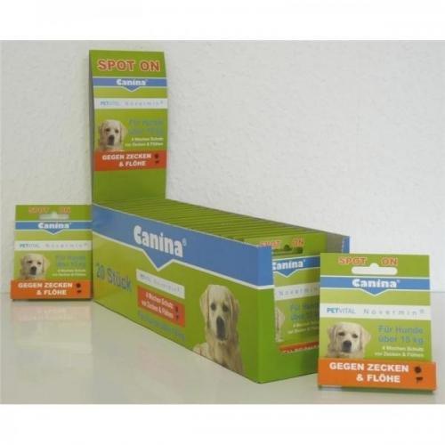 Canina Pharma PETVITAL Novermin fürgroße Hunde 4ml, Hundepflege, Tierpflege