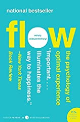 Flow The Psychology of Optimal Experience English First Edition Paperback