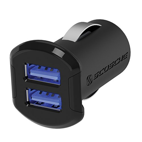 Our #6 Pick is the SCOSCHE USBC242M Revolt Car Charger