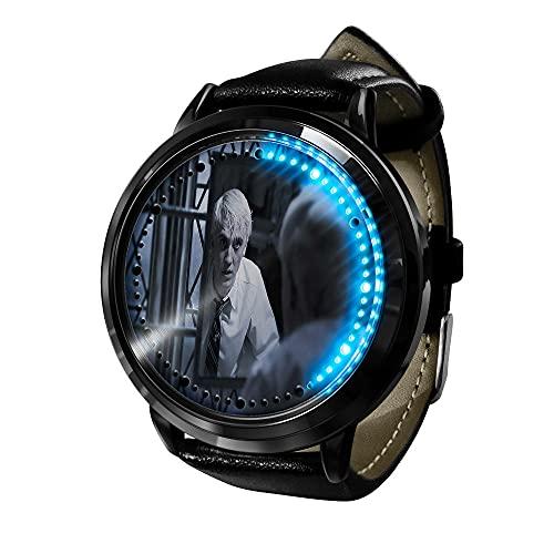 Reloj Harry Potter de Anime Reloj Pantalla táctil LED Reloj de Pulsera con luz Impermeable Reloj de Pulsera Unisex Regalo de Cosplay Nuevos Relojes de Pulsera