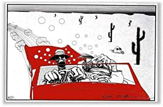 Fear and Loathing Savage Journey Ralph Steadman Poster No Frame (36 X 24 (Horizontal))