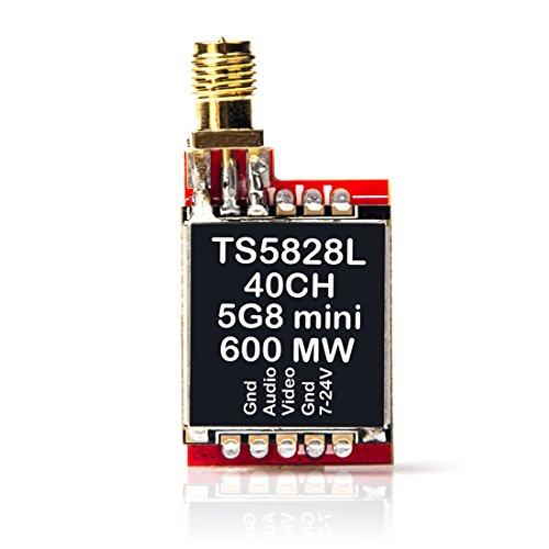 AKK TS5828L 5.8G 600MW FPV Mini AV Transmitter for FPV Multicopter