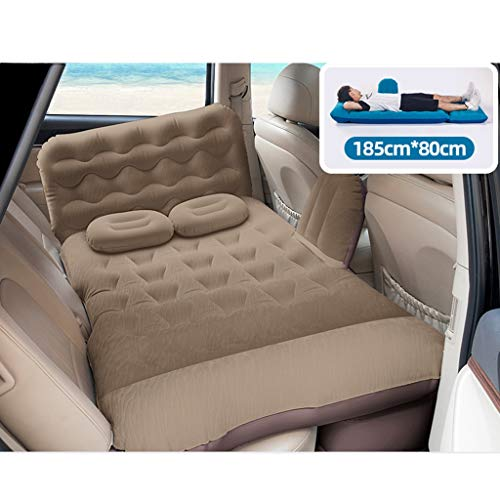 Car Air Mattress SUV Back Seat Moveable Air Bed,Travel Camping Outdoor Activities,with Pump Portable Travel Universal Truck Minivan (Color : B)