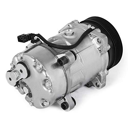 AMACCHI Compressore D'aria Condizionata Durevole 12V Compressore Aria Condizionata per AU-D-I A4