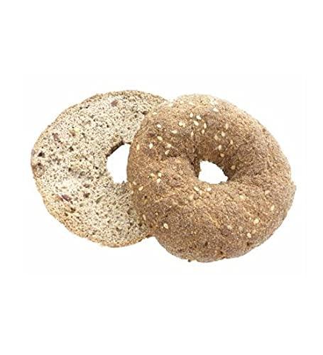 Simply Keto 12x Frische Sesam-Bagel - Sättigend & Proteinreich - Nur 1,5g Kohlenhydrate auf 100g - Geeignet für Low Carb, Paleo & ketogene Ernährung - Glutenfrei & Lactosefrei - 12er Pack